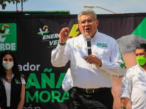 Sin miedo a los partidos y políticos de siempre: Juan Antonio Magaña