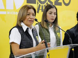 Las mujeres del PRD son libres, no necesitan permiso para manifestarse como lo deseen