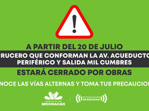 Atención permanente a la ciudadanía por construcción de distribuidor vial Mil Cumbres: SCOP