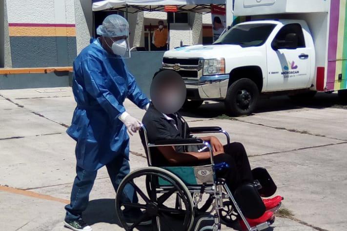 Al 59.17 por ciento, áreas COVID-19 de hospitales de Lázaro Cárdenas