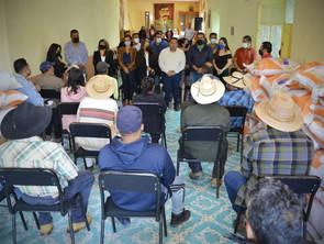 Gobierno de Tarímbaro otorga subsidio para la compra de semilla, biofertilizante y producto químico