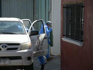 Ayuntamiento entregó 50 tanques de oxígeno alrededor del municipio