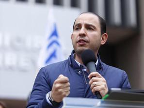 Muy peligroso para el país incompetencia morenista, mezclada con su cínica corrupción: Marko Cortés