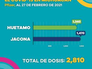 Más de 26 mil adultos mayores de 60 años han recibido la primera dosis de vacuna contra COVID-19