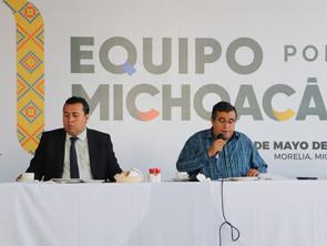 """Morena sigue mintiendo """"Falso, presunto repunte de Ramírez Bedolla"""": Equipo por Michoacán"""