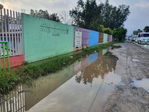 Escuelas sin mayores daños por jornada de lluvias en el estado: SEE