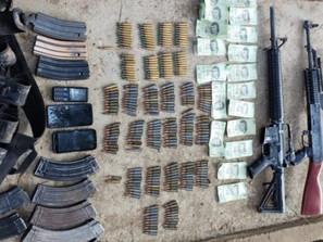 Asegura SSP a dos en posesión de armas de fuego, cargadores y 273 cartuchos útiles