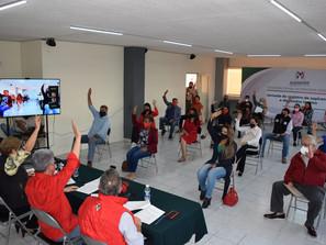 CPP del PRI aprueba designación de candidaturas a diputaciones locales y presidencias municipales