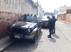 Recupera SSP camioneta con reporte de robo, en Morelia