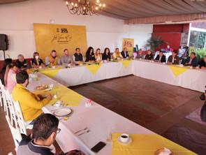 Coordinadora municipalista PRD exhorta al fortalecimiento de gobiernos locales: Humberto González