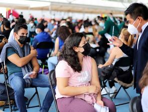 Registra Vacuna anti COVID-19 el 64. 8 por ciento de avance en Michoacán
