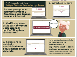 En Michoacán se inicia registro para vacunación de adultos mayores contra COVID-19