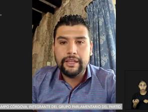 Octavio Ocampo propone reforma para que se incorporen 8 localidades al municipio de Tuzantla
