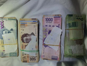 Detiene SSP a dos en posesión de dinero, cuya procedencia no fue acreditada