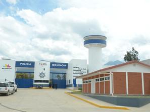 Con 11 cuarteles de policía, Michoacán combate a la delincuencia