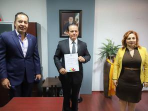 Carlos Río ya 'despacha' en Sedesoh