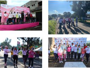 Adriana Hernández promueve la actividad física para prevenir el cáncer de mama