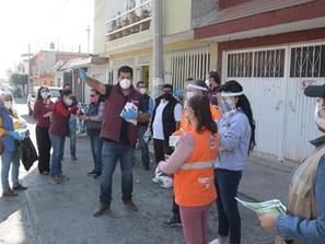Refuerza Gobierno de Morelia supervisión de medidas sanitarias en tianguis y mercados