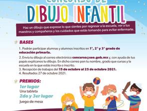 Lanza SEE concursos de dibujo y ensayo infantil para niñas y niños de primaria