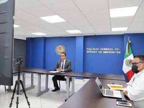 Mejorar las capacidades de la Fiscalía General  con apoyo de la sociedad civil: Adrián López Solís