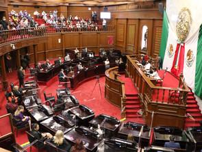 Asumen funciones diputados locales de la 75 Legislatura del Congreso de Michoacán