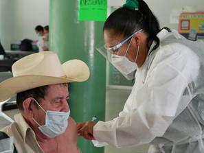 Garantizada, vacunación a adultos mayores en Uruapan