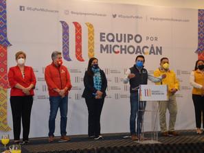Equipo por Michoacán se fortalece y camina unido al triunfo