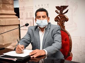 Ángel Custodio propone garantizar derecho al agua y certeza jurídica a responsabilidad de autoridade