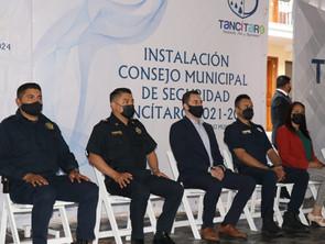 SSP participa en la Instalación del Consejo Municipal de Seguridad de Tancítaro