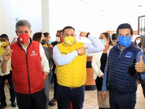 El Equipo por Michoacán, se fortalece y se consolida: Víctor Manríquez