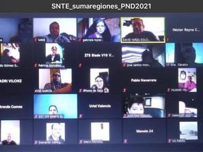 Maestros se suman a la 3ª Consulta del Plan Nacional de Demandas 20121 del SNTE