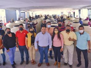 Entrega Gobierno de Tarímbaro 100 subsidios para hogares tarimbarenses