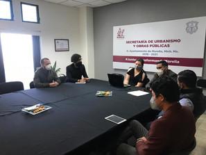 """Jóvenes empresarios de la CMIC presentan a SUOP plataforma  """"Construyendo con Valores"""""""