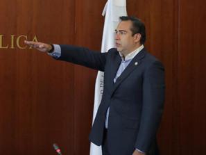 Rinde Protesta Marco Trejo como nuevo senador de la República de Michoacán