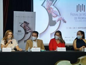 Morelia reafirma su vocación de Ciudad Creativa de la Música con el FMM: SeCultura