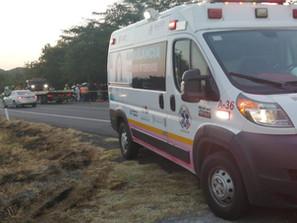 Accidente en la Autopista Siglo XXI, deja 13 lesionados ocho de ellos de gravedad