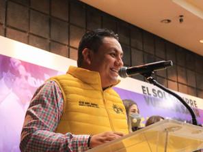 PRD el gran impulsor del México democrático y de libertades: Víctor Manríquez