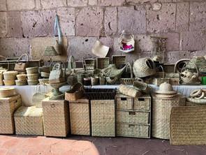 José Reyes Méndez Contreras: la magia de la artesanía de fibra vegetal en sus manos