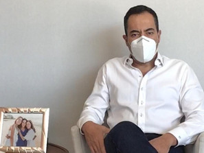 Seguiré trabajando desde mi recuperación, no bajemos la guardia, llama Carlos Herrera