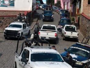 SSP continúa con despliegue para mantener la tranquilidad en Tlalpujahua