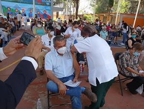Morón se aprovecha de la campaña de vacunación