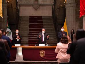 """""""Quiero ser recordado como un presidente honesto, trabajador congruente y comprometido"""": Raúl Morón"""
