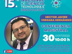 Vinculará 15º Congreso Nacional de Ciencia a sectores productivo y académico