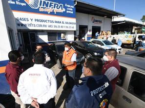 Gobierno de Morelia de la mano con PROFECO inspecciona establecimientos con venta de oxígeno médico
