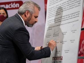 Gobernadores Electos de Morena Renovarán la CONAGO: Bedolla