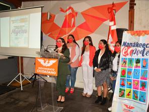 Movimiento Ciudadano anuncia Escuela de Liderazgo Político para Mujeres