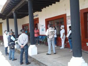 Más de 77 mil michoacanos, capacitados sobre medidas de prevención contra COVID-19