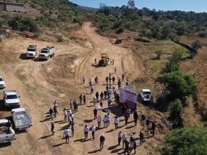 Inicia Raúl Morón rehabilitación de 78 caminos rurales en Morelia