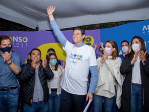 En Morelia capital del estado Alfonso Martínez se consolida como el próximo presidente Municipal