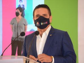 Alerta el Gobernador Silvano Aureoles de un posible rebrote de COVID-19 que afectaría a los jóvenes.